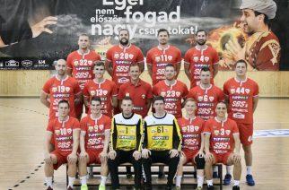 A DVTK-EGER csapata (fotó: handballeger.hu)