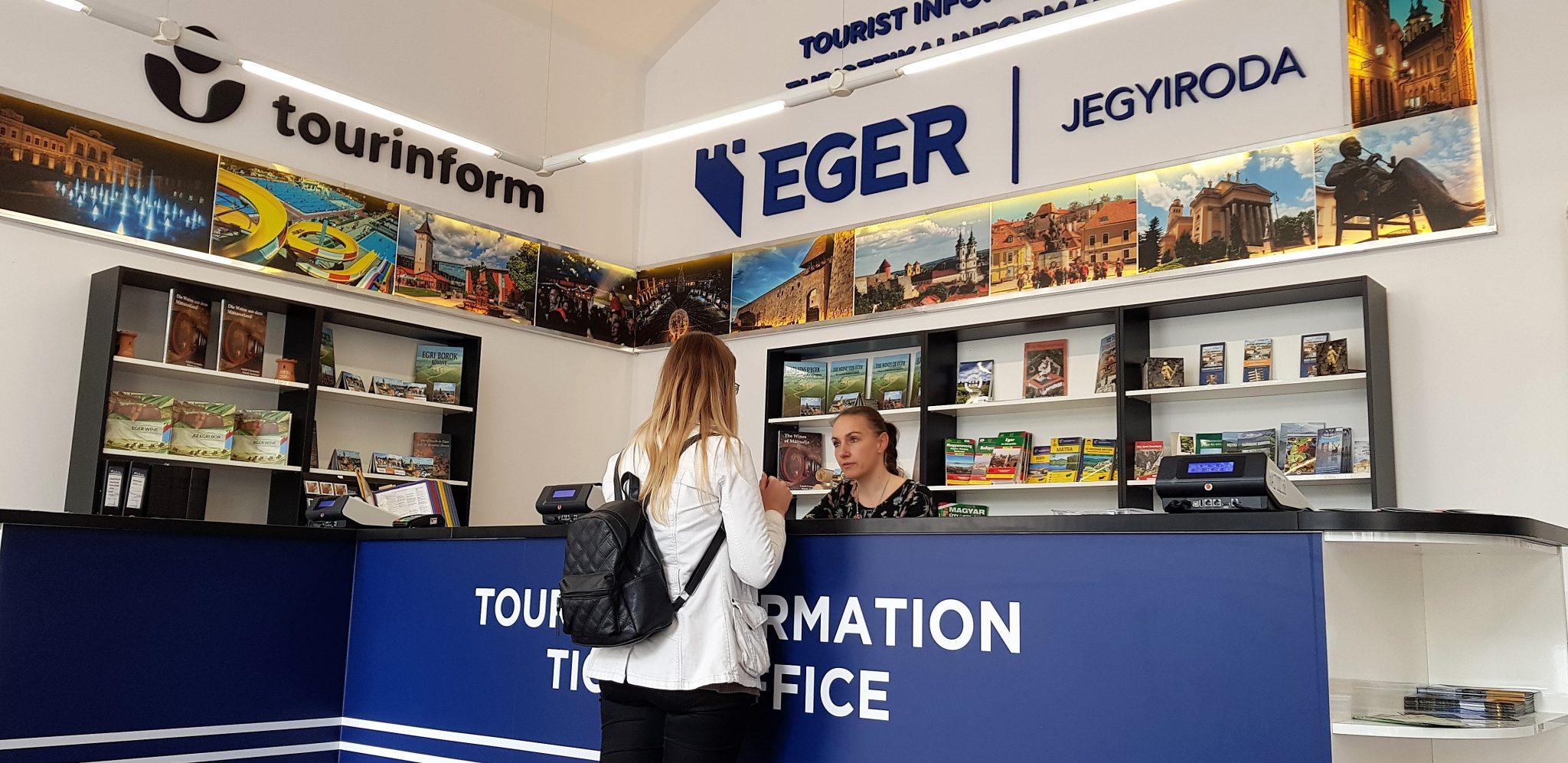 Tourinform iroda, Eger