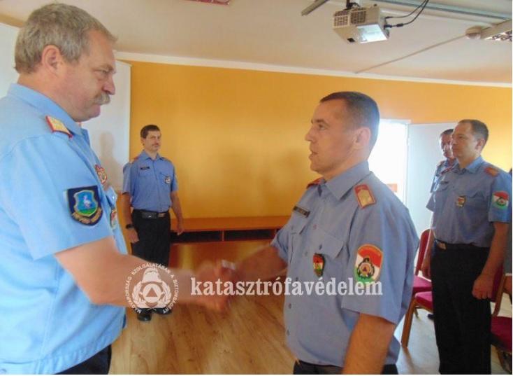 Zelei László tű. alezredes a Heves Megyei Katasztrófavédelmi Igazgatóság iparbiztonsági főfelügyelői posztját tölti be ezután.